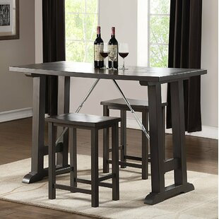 Crouse 3 Piece Bar Set by Red Barrel Studio