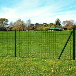 10m X 1.7m Euro Mesh Fence Set By Symple Stuff