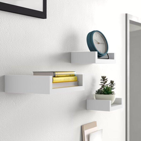 3 Piece Floating Shelves Wayfair
