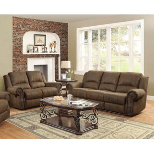 Darby Home Co Haslingden 2 Piece Reclining Living Room Set