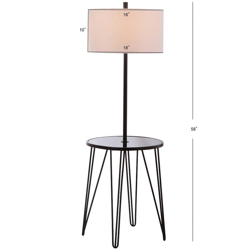 Dellinger Side Table 58 Floor Lamp Reviews Allmodern