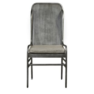 17 Stories Norton Oiled Bronze Side Chair (Set of 2)