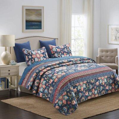 August Grove Knighten Reversible Quilt Set Quality Bedding Shop Com