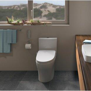 Toto Aquia® IV Dual-Flush Elongated Two-..