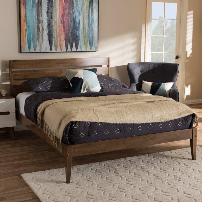 info for 85add 44c20 Adrienna Mid-Century Modern Platform Bed