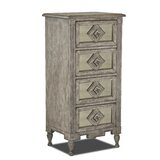 Thrailkill 4 Drawer Accent Chest by Bungalow Rose