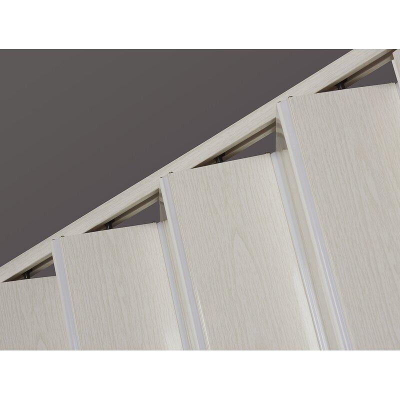 LTL Accordion Doors PVC//Vinyl Homestyle Accordion Door Frost White