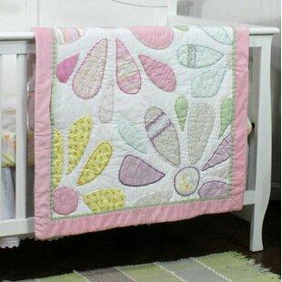 Crazy Daisy All Cotton Baby Quilt ByNurture Imagination