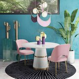 Burlwood 3 - Piece Dining Set by Everly Quinn