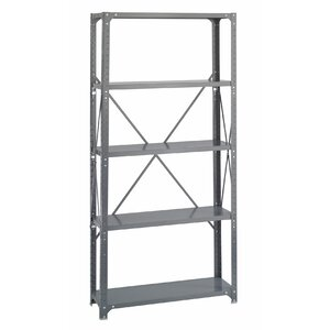 Commercial Steel 5 Shelf Shelving Unit