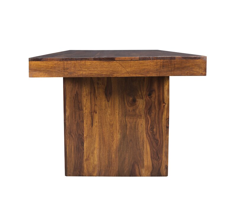 Lusby Sheesham Wood Solid Wood Dining Table