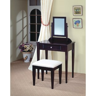 Wildon Home ® Woodinville Vanity Set with Mirror