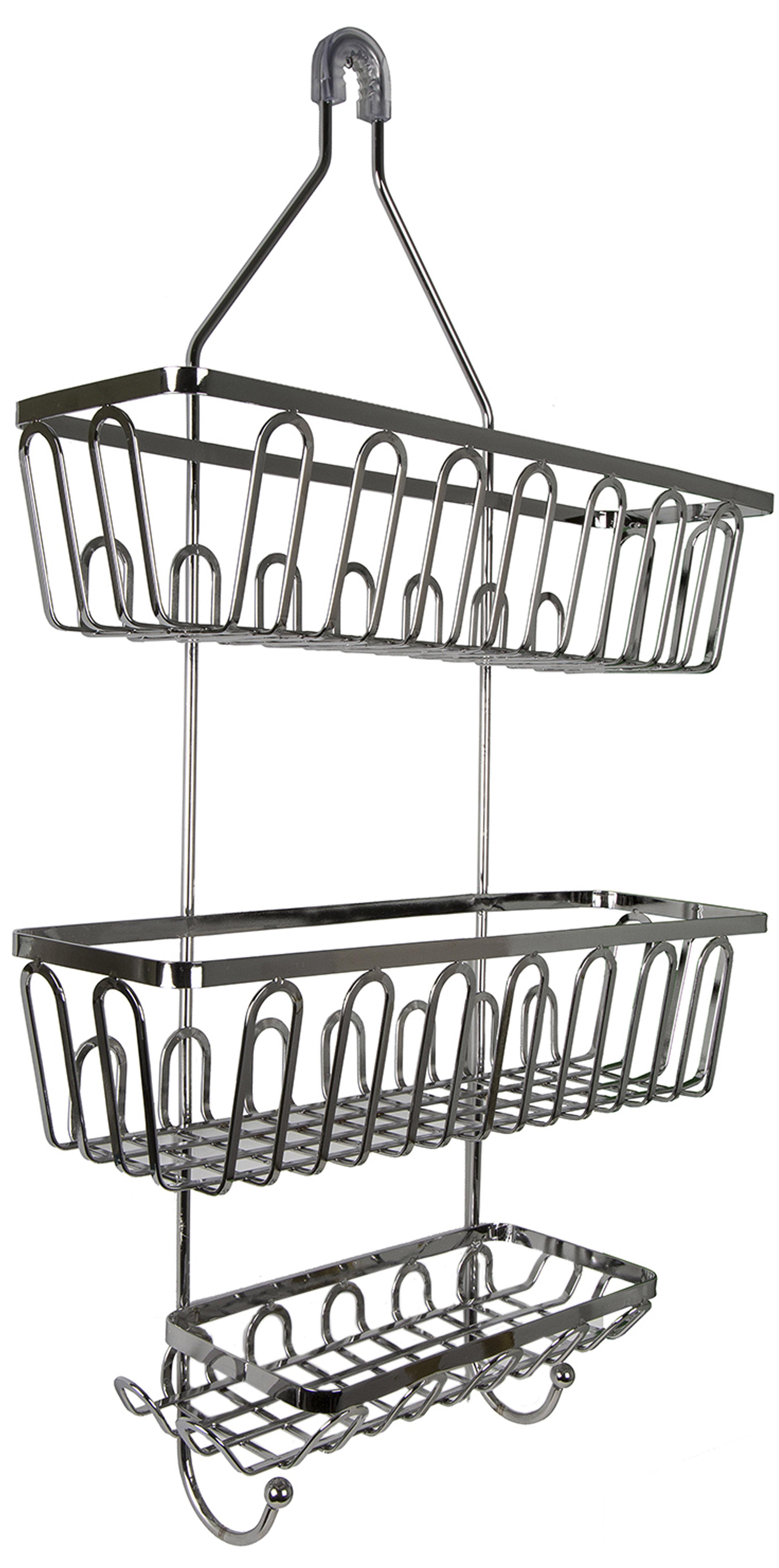 R&K Bath Watson Metal Hanging Shower Caddy   Wayfair