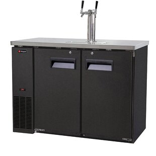 Dual Tap Commercial Grade Kegerator by Kegco