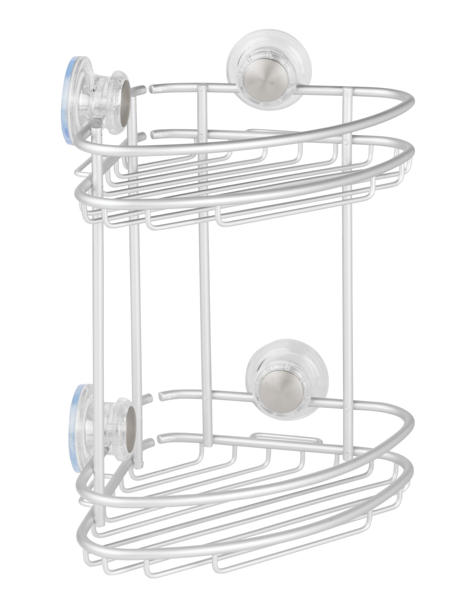 InterDesign Metro Aluminum 2 Tier Corner Shower Caddy & Reviews ...