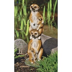 We are a Little Weird Ceramic Tile Coasters 3dRose cst/_12175/_3 Meerkats Set of 4
