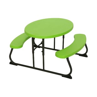 Folding Plastic Picnic Table By Lifetime