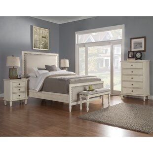 Shirke Panel 5 Piece Bedroom Set