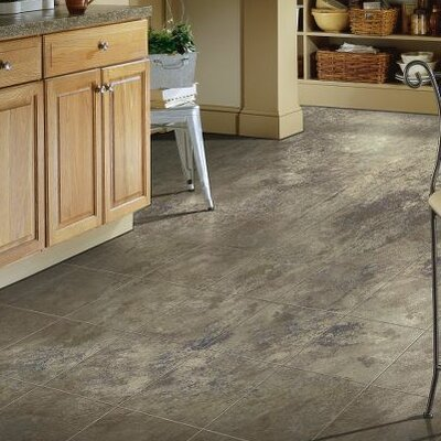 "Stone Creek 12"" x 48"" x 8mm Laminate Flooring Armstrong Flooring Color: Azul"
