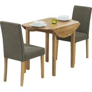 Muoi Round Folding Dining Set With 2 Chairs By Zipcode Design