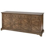 Pannell Farmhouse Wood Stain Sideboard by Gracie Oaks