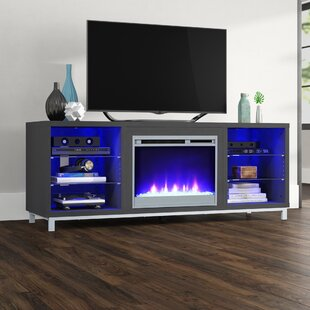 Ilyse TV Stand for TVs up to 70 with Fireplace by Latitude Run