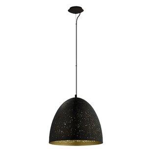 Brayden Studio McBride 1-Light Bell Pendant