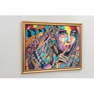Artistic Painting Magnetic Wall Mounted Memo Board By Brayden Studio