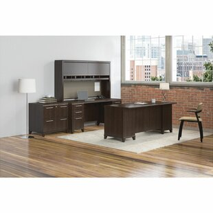 Affordable Enterprise 2 Piece Desk Office Suite By Bush Business Furniture
