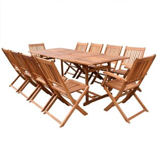 Fortenberry 10 Seater Dining Set By Sol 72 Outdoor