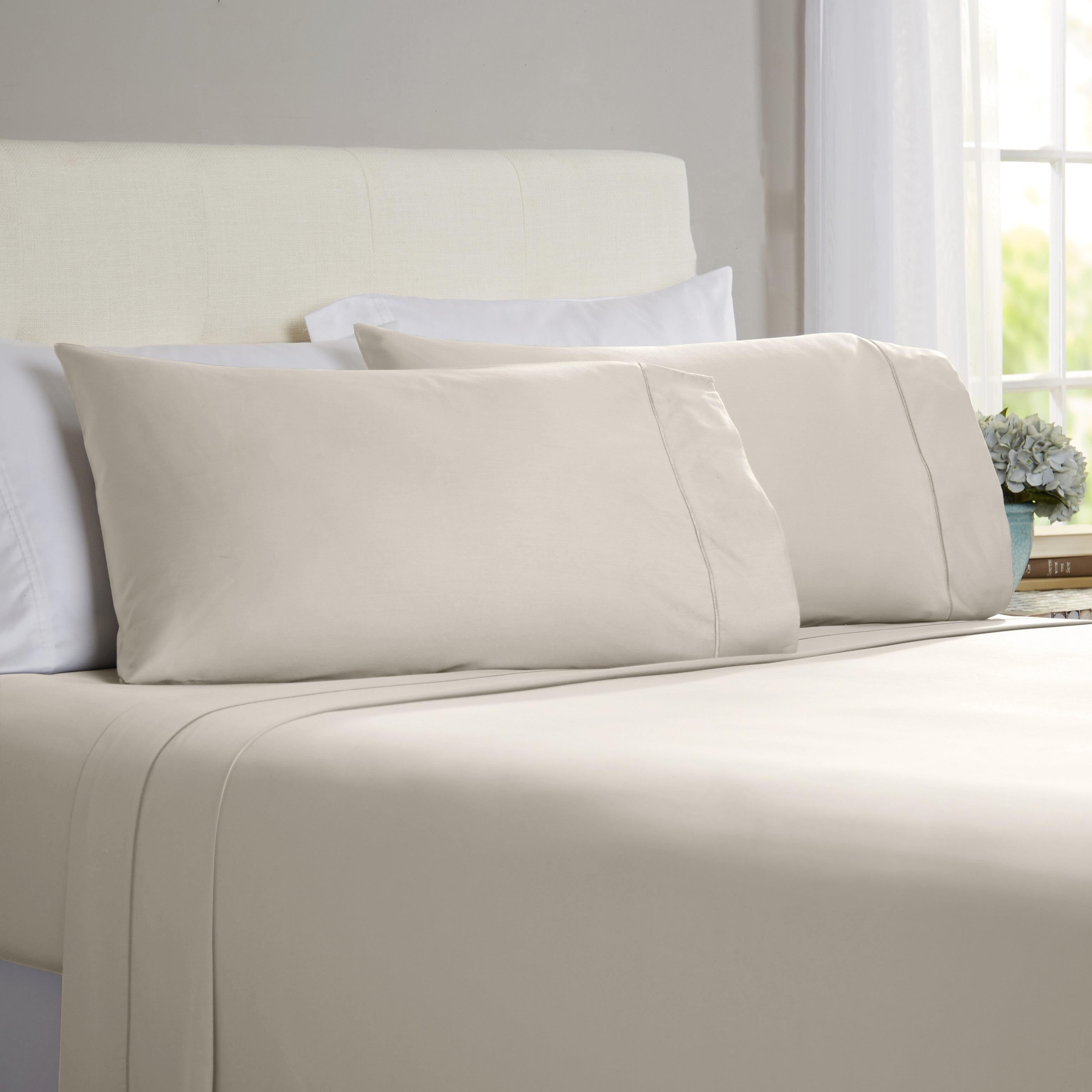 Jamel 800 Thread Count 100 Cotton Sheet Set Reviews Wayfair