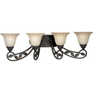 Alcott Hill Triplehorn 4-Light Vanity Light