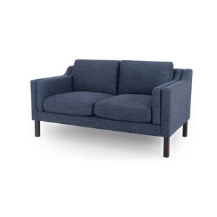 Rolando Mid-Century Loveseat by Corrigan Studio