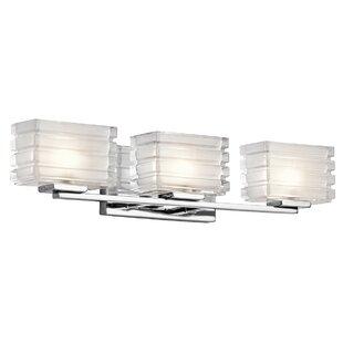 Inexpensive Arndell Park Wall Mount 3-Light Vanity Light By Latitude Run