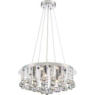 Willa Arlo Interiors Shelldrake 5-Light Crystal Chandelier