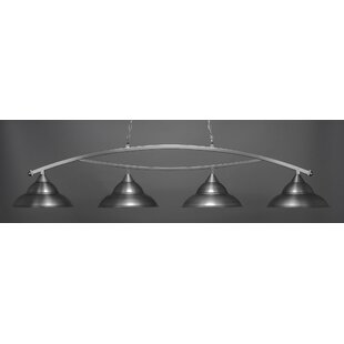 Red Barrel Studio Eisenhauer 4-Light Kitchen Island Pendant