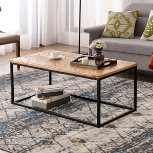 Fleener Coffee Table By Union Rustic
