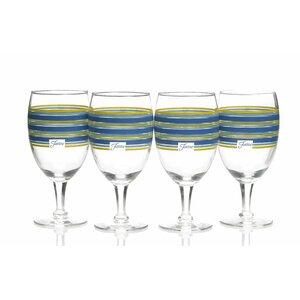 Stripes All Purpose Goblet (Set of 4)
