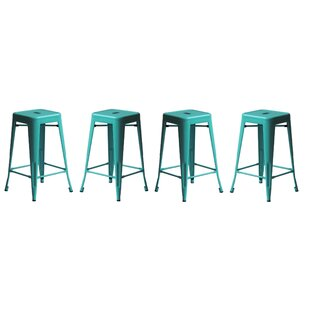Orozco Modern 26 Bar Stool (Set of 4) Brayden Studio