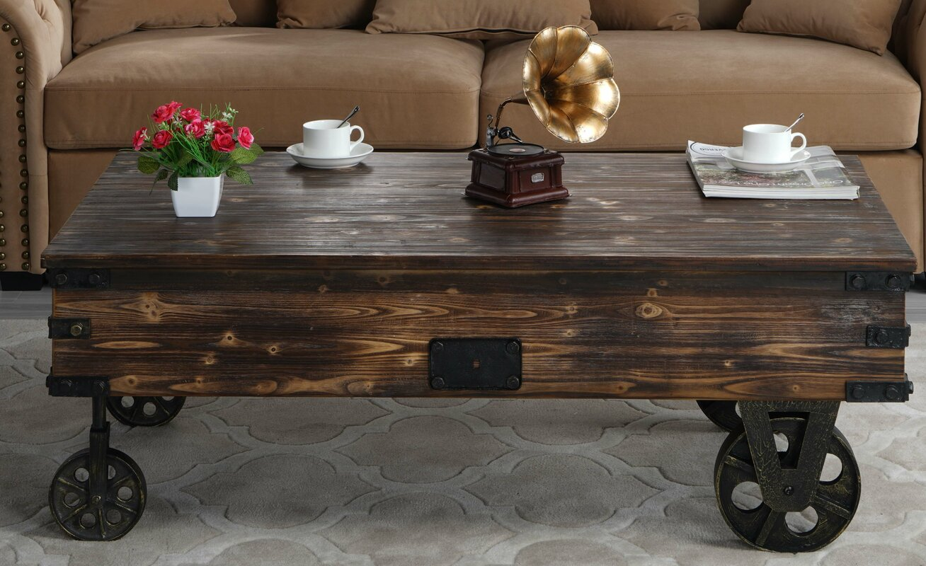 Williston Forge Bradwell Country Coffee Table Reviews Wayfair