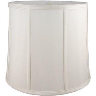14 Faux Silk Drum Lamp Shade