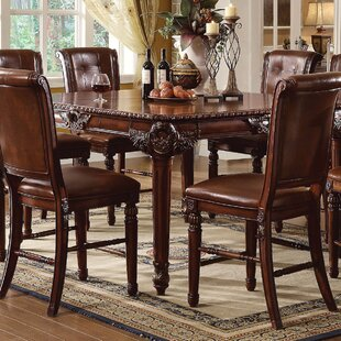 Astoria Grand Wendel Counter Height Extendable Dining Table