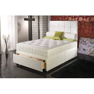 Ruqayyah Coilsprung Divan Bed By 17 Stories