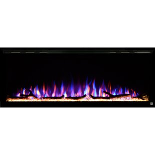 Sideline 50 Elite Recessed Wall Mounted Electric Fireplace by Touchstone
