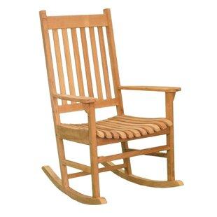 Jewels of Java Terrace Teak Rocking chair