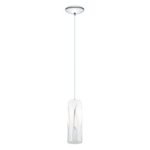 Great Price Lavanna 1-Light Cylinder Pendant By Bayou Breeze