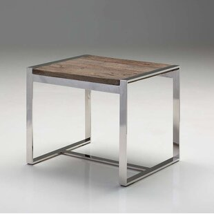 Cresson Reclaimed Elm Wood End Table