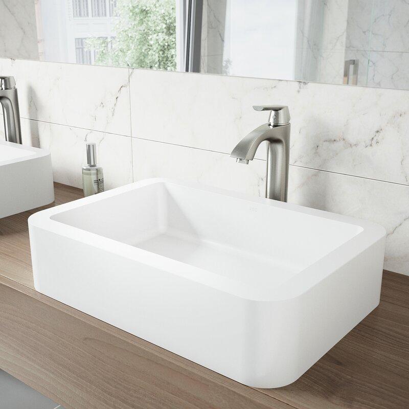 VIGO Linus Vessel Bathroom Faucet & Reviews | Wayfair