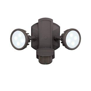 Vaxcel Lambda 2 Head LED Outdoor Spotlight