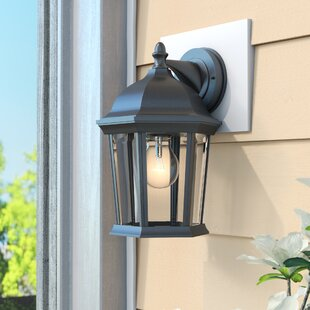 Shifflett 1-Light Outdoor Wall Lantern By Alcott Hill Outdoor Lighting